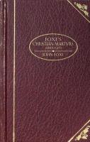 Foxe's Christian Martyrs