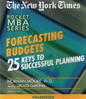 Forecasting Budgets