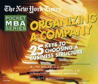 Organizing A Company