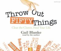 Throw Out Fifty Things