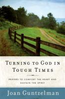 Turning to God in Tough Times