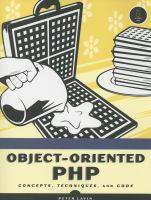 Object-oriented PHP