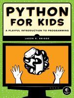 Image: Python for Kids
