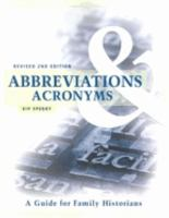 Abbreviations & Acronyms