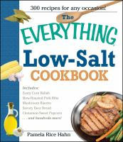 The Everything Low-salt Cookbook