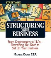Structuring your Business