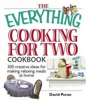 The Everything Cooking for Two Cookbook