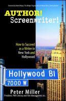 Author! Screenwriter!