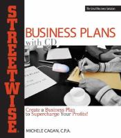 Streetwise Business Plans With CD