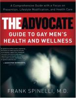 The Advocate Guide to Gay Men's Health and Wellness