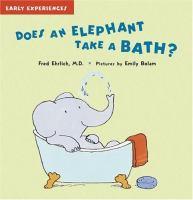 Does An Elephant Take A Bath?