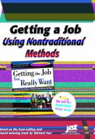 Getting A Job Using Nontraditional Methods