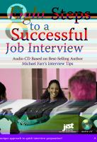 Eight Steps to A Successful Job Interview