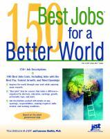 150 Best Jobs For A Better World