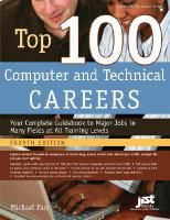 Top 100 Computer and Technical Careers
