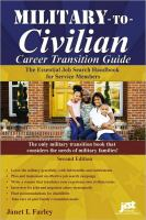 Military-to-civilian Career Transition Guide