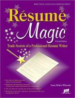 Résumé Magic