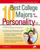 10 Best College Majors for your Personality