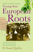 Tracing your European Roots