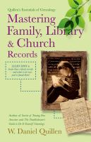 Mastering Family, Library & Church Records