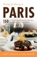 Wining & Dining in Paris, [2015]