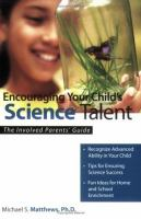 Encouraging your Child's Science Talent