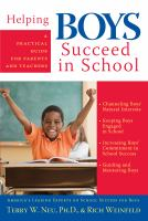 Helping Boys Succeed in School