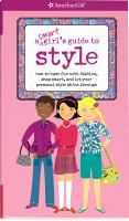 A Smart Girl's Guide to Style / Sharon Cindrich