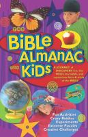 The Bible Almanac for Kids
