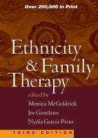 Ethnicity and Family Therapy
