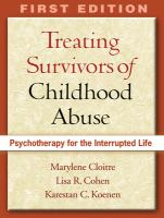 Treating Survivors of Childhood Abuse