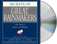 Secrets of Great Rainmakers