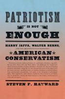 Patriotism Is Not Enough