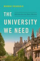 The University We Need