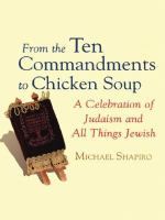 From the Ten Commandments to Chicken Soup