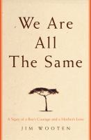 We Are All the Same