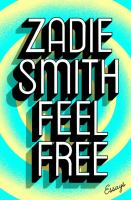 Cover of Feel free : essays
