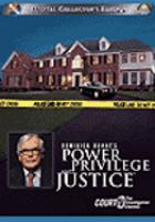 Dominick Dunne's Power Privilege and Justice