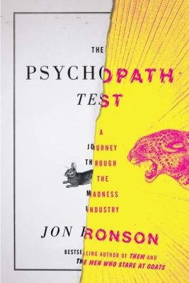 Cover image for The Psychopath Test