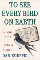 To See Every Bird on Earth