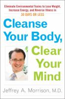 Cleanse your Body, Clear your Mind