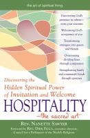 Hospitality, the Sacred Art
