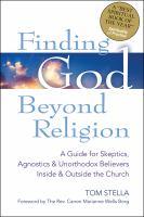 Finding God Beyond Religion