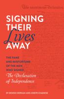 Signing Their Lives Away