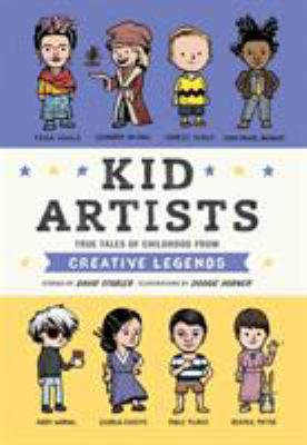 Kid Artists: True Tales of Childhood from Creative Legends(book-cover)