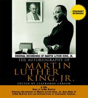The Autobiography of Martin Luther King, Jr. [abridged]