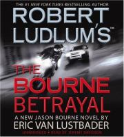 Robert Ludlum's The Bourne Betrayal