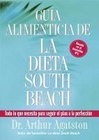 Guía alimenticia de la dieta South Beach