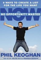 No Opportunity Wasted