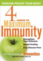 4 Weeks to Maximum Immunity